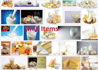 milk items