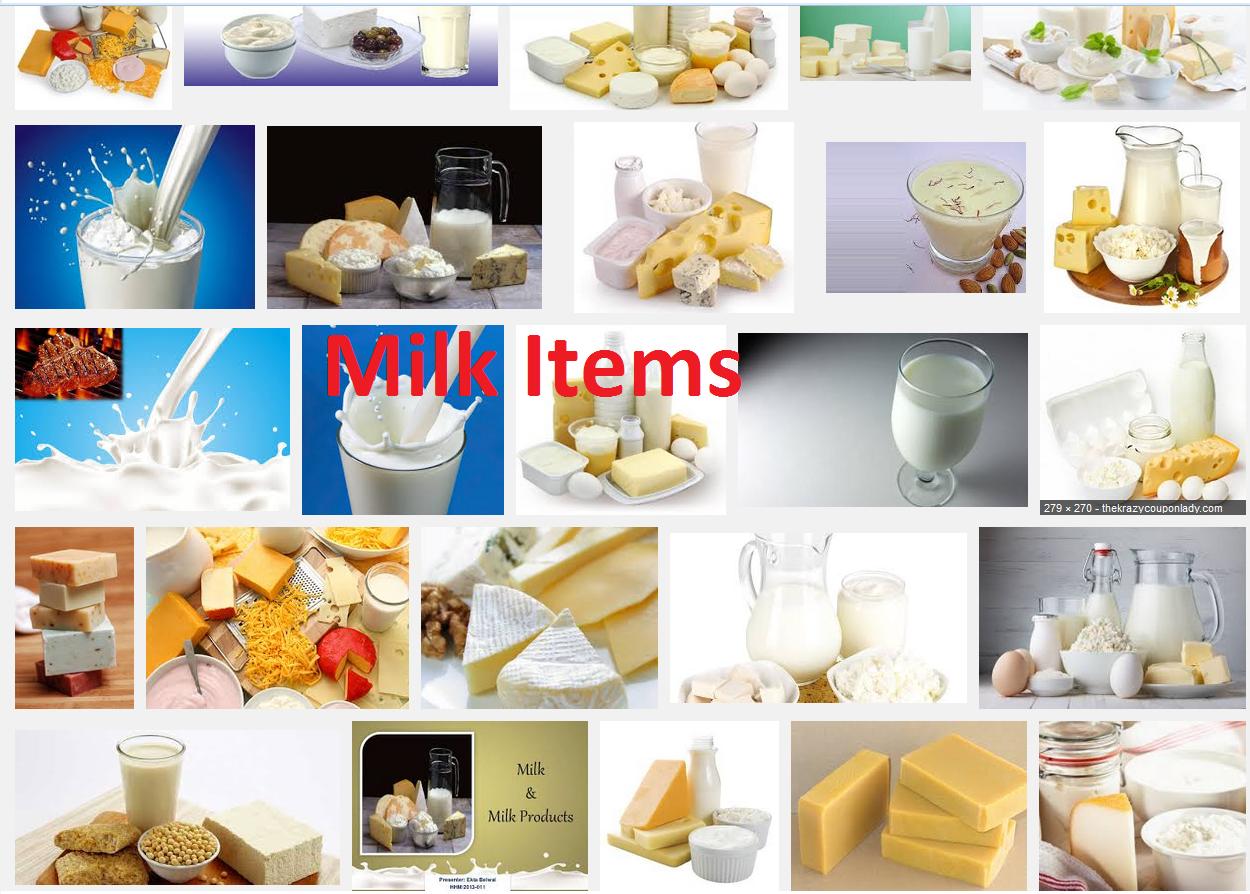 milk items