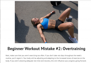 avoid workout mistakes