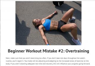 avoid workout mistakes