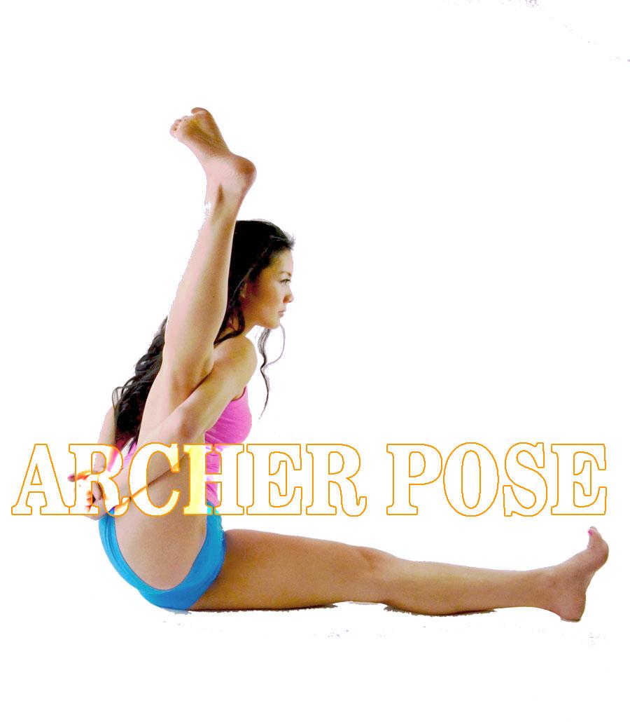 archer pose