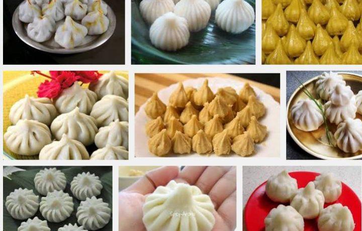 Indian God Sri Ganesh favorite Sweet Food Modak Recipe