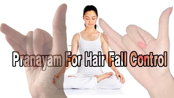 pranayam hair fall control