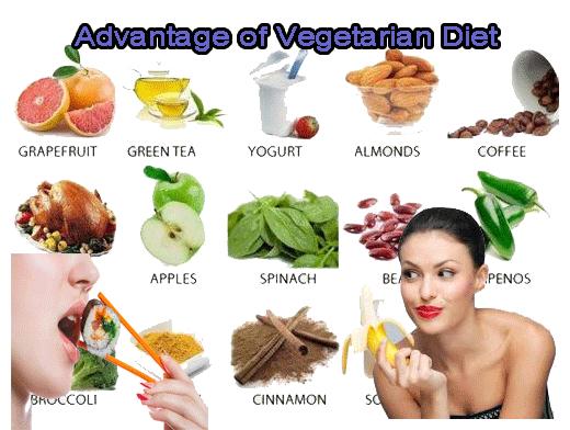 Advantages Vegetarian Diet