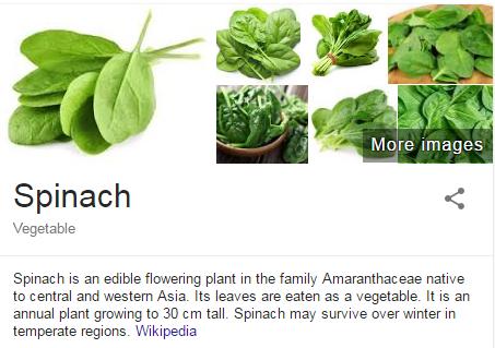 spinich