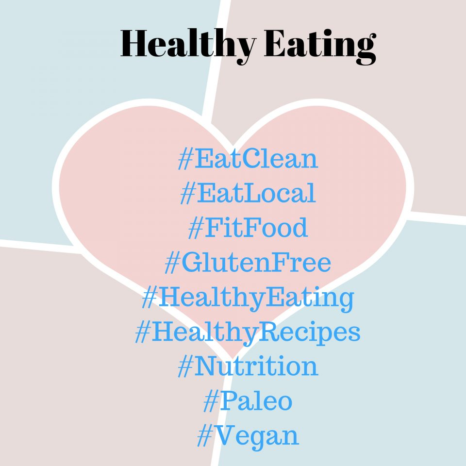 healthy eating hashtag