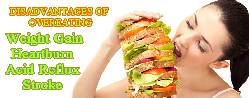 disadvantages of overeating