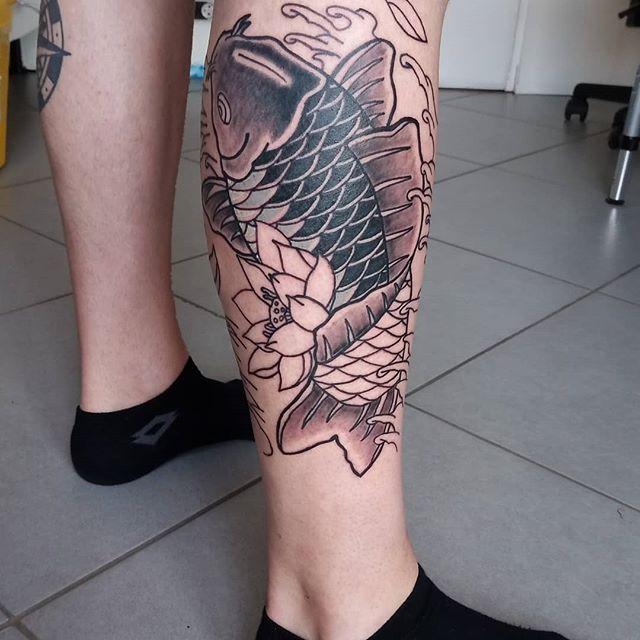 Leg Trending Tattoos